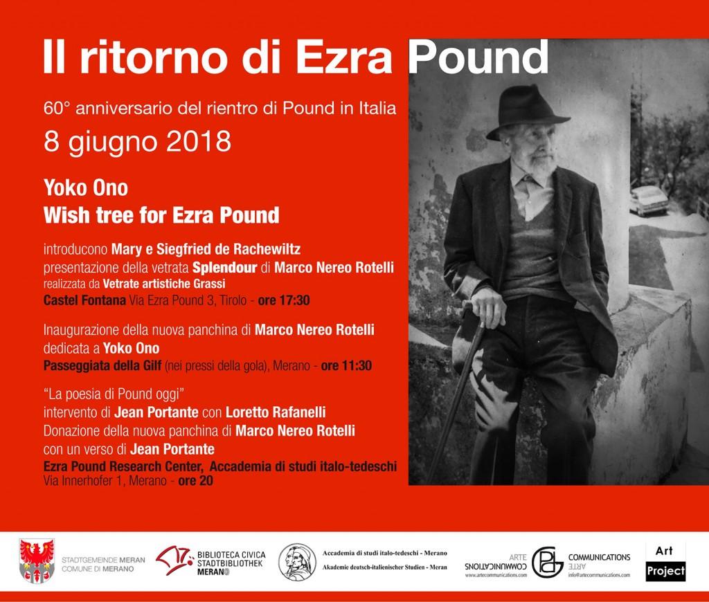 Invito IL RITORNO DI EZRA POUND 2