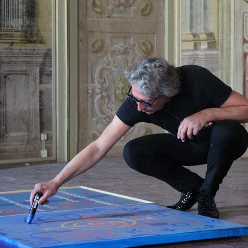 L'opera di Marco Nereo Rotelli ispirata a De André, per il progetto Ars Medica